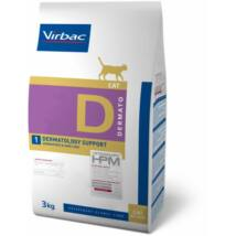 Virbac Diet Cat Dermatology Support 3kg