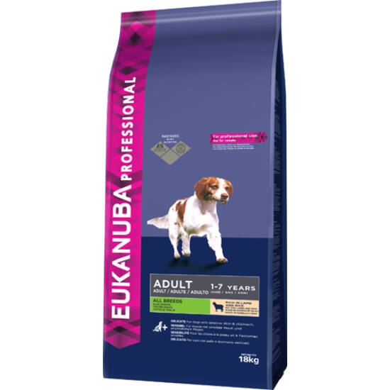 Eukanuba Adult Lamb & Rice All Breed 18kg