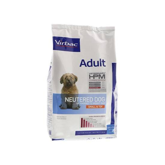 Virbac adult neutered dog small&toy 3kg
