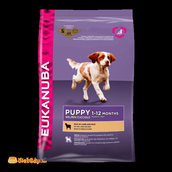 Eukanuba puppy lamb & rice 12kg